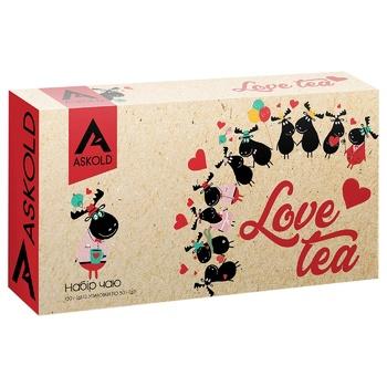 Набор чая Askold Love tea 3 вида 150г
