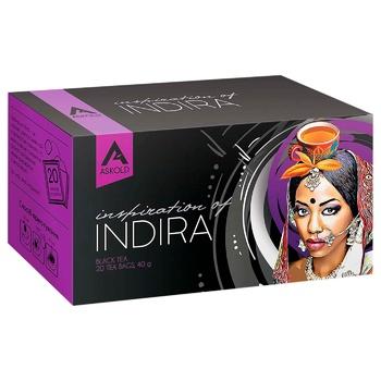 Чай черный Askold Вдохновение Индиры в пакетиках 20шт 40г