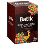 Чай черный Batik Королевский стандарт крупнолистовой 85г