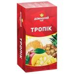 Чай Домашний чай Тропические Фрукты черный 1,5г х 20шт