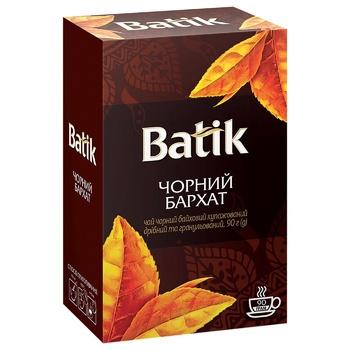 Чай чорний Batik Бархат 90г - купити, ціни на ЕКО Маркет - фото 1