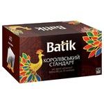 Чай чорний Batik Royal Standard 40шт 2г