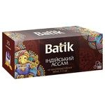 Batik Indian Assam Black Tea 25pcs*1.5g