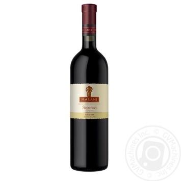 Вино Marani Саперави красное сухое 0,75л