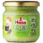 HAAS Wasabi Creamy Horseradish 212ml