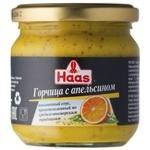 Горчица HAAS с апельсином 210г