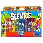 Scentos 40641 Scented Marker Set 12pcs