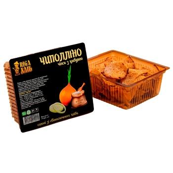 Чипси Riga Хліб Чиполліно cухарні з цибулею 110г - купити, ціни на CітіМаркет - фото 1