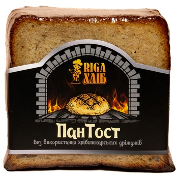 RIGA Pan Tost Bread for toast 250g - buy, prices for CityMarket - photo 1