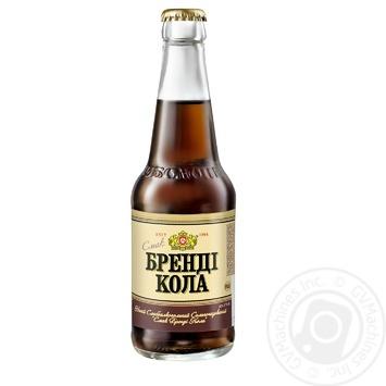 Напій Оболонь Бренді Кола слабоалкогольний сильногазований 0,33л скло - купити, ціни на Novus - фото 2