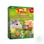 Корм Роккі-1 для хомяков и крыс 550г
