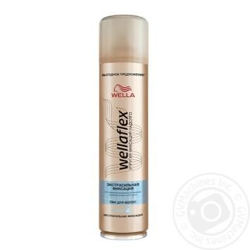 Лак Wellaflex Экстра сильная фиксация для волос 400мл - купить, цены на Метро - фото 1