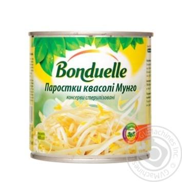 Ростки фасоли Бондюэль Мунго 425мл - купить, цены на Метро - фото 1