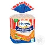 Хлеб Harry's American Sandwich пшеничный для сэндвичей нарезанный 470г