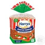 Хлеб Harry's American Sandwich ржано-пшеничный для сэндвичей нарезанный 470г