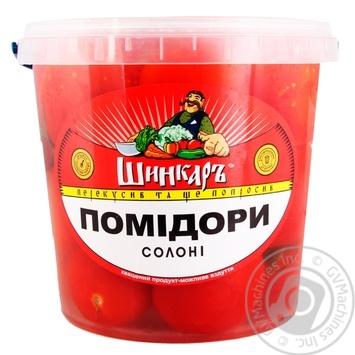 Помідори солоні Шинкарь 1кг - купить, цены на Фуршет - фото 1