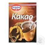 Какао Др.Оеткер порошок с пониженным содержанием жира 50г