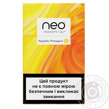 Стики табачные GLO Neo Demi Magnetic Pineapple - купить, цены на Восторг - фото 1