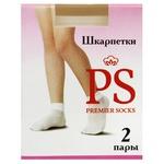 Носки Premier Socks детские капрон белые 2 пары