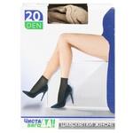 Носки Чистая ВыгоДА! эластичные матовые бежевые с комфортной резинкой 20ден