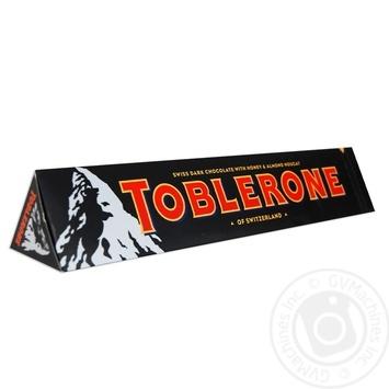 Шоколад темный Toblerone с медово-миндальной нугой 360г
