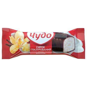 Сирок Чудо ваніль глазурований 15% 36г - купити, ціни на CітіМаркет - фото 1