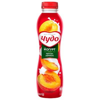 Chudo Peach-Apricot Flavored Yogurt 2,5% 540g - buy, prices for EKO Market - photo 1
