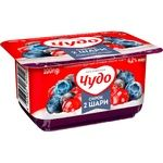 Chudo Whipped Cottage Cheese North Berries 4.2% 100g