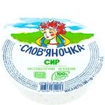 Сир Слов'яночка домашній кисломолочний нежирний 170г Україна - купити, ціни на Фуршет - фото 1