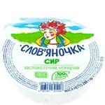 Творог Слов'яночка домашний нежирный 280г
