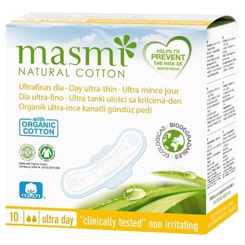 Гигиенические прокладки Masmi Ultra Day для нормальных выделений 10шт