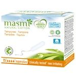 Masmi Super Plus Tampons without Applicator 15pcs