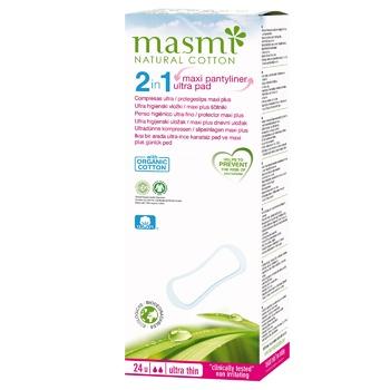 Ежедневные прокладки Masmi Ultra Thin 2в1 24шт