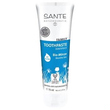 Зубная паста Sante Био мятная с фтором 75мл