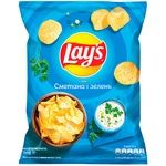 Lay's Sour Cream and Herbs Flavored Potato Chips 71g