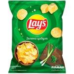 Чипси Lay's зі смаком зеленої цибулі 71г