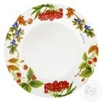 Oselya Shallow Plate Forest Berries 23cm