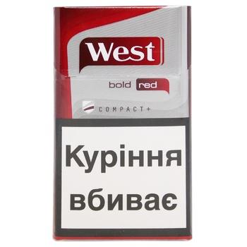 Сигареты West Bold Red Compact - купить, цены на Восторг - фото 2