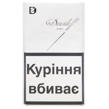 Сигареты davidoff one купить купить сигареты в коврове