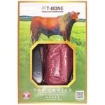 Стейк T-Bone File Mignon Top Choice говяжий в вакуумной упаковке