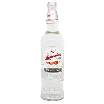 Matusalem Platino Rum 40% 0.7l - buy, prices for CityMarket - photo 1