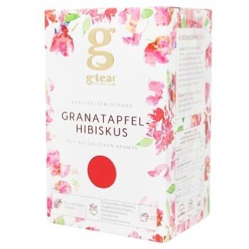 Чай Grace! Гранатове каркаде трав`яна суміш 20*1.75г - купити, ціни на CітіМаркет - фото 1