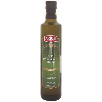 Олія Arioli Extra Virgin оливкова скл 500мл - купити, ціни на CітіМаркет - фото 1