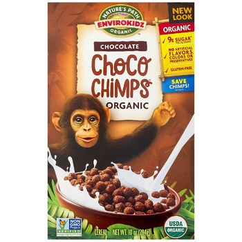 Envirokidz Сhoco Chimps Gluten Free Breakfast Cereals 284g - buy, prices for CityMarket - photo 1