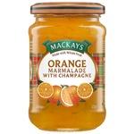 Конфітюр Mackays Солодкий апельсин з шампанським 340г