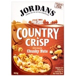 Crunches Jordans with nuts 500g cardboard packaging