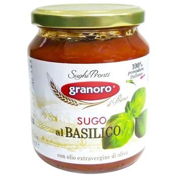 Соус Granoro Базилик 370г