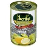 Оливки Liberitas Манзанілла з лимон.з/б 280г