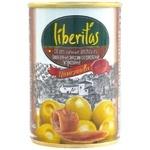 Оливки Liberitas Манзанілла з анчоус. з/б 280г