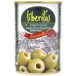 Оливки Liberitas зелені б/к з/б 280г